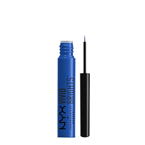 NYX PROFESSIONAL MAKEUP Vivid Brights Liner, Sapphire, 0.068 Fluid Ounce Blue Eyeliner Makeup