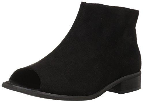 Brinley Co Women's Riana Ankle Boot, Black Black