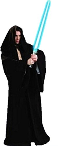 ShonanCos Star Wars Skywalker Darth Maul Cosplay Costume Suit Cloak Robe Ward (Black)