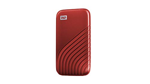 WD 2TB My Passport SSD External Portable Drive, Red, Up to 1,050 MB/s - WDBAGF0020BRD-WESN