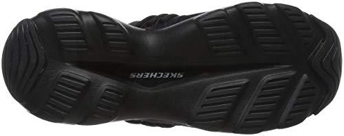 Negro Black Bbk Mujer D'Lite Zapatillas Semi Skechers Precious Ultra para wPBz8qxv0