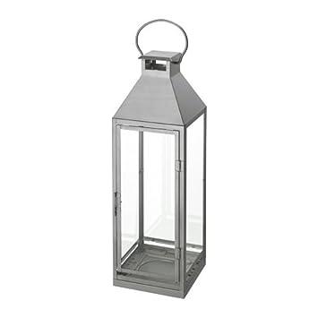 Nye IKEA lagrad Lanterne en Argenté - pour l'intérieur et l'extérieur VG-03