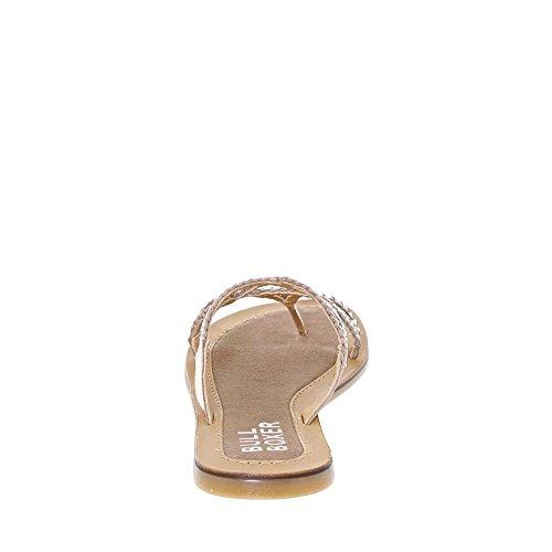 BULLBOXER Damen 308005i1l Slipper Silber (Platinum)