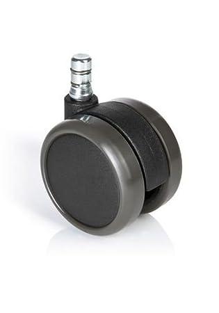 HJH Office - 619025 ruedas para suelo duro ROLO No-Noise 11 mm / 65