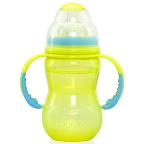 320 ml ab 3 Monaten N/ûby Trinkflasche mit Griffen