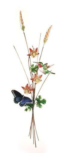 Bovano - Wall Sculpture - Hummingbird Butterfly w/ (Bovano Wall Sculpture)