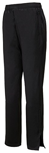 Augusta Sportswear Men's Solid Brushed Tricot Pant, Black, (Solid Brushed Tricot Pant)