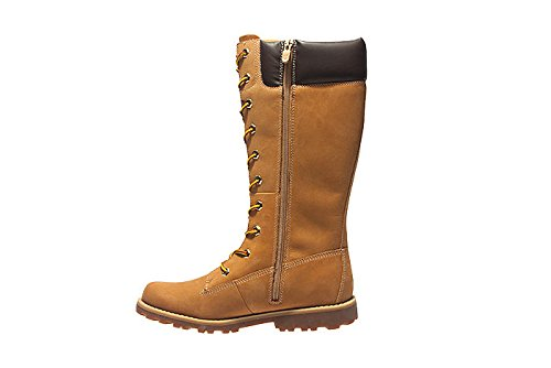 Amazon.com | Timberland Youth Asphalt Trail Classic Tall Wheat Nubuck Boots 4.5 US | Chukka