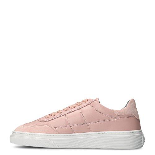 Hogan Damen Hxw3400j280c7hm413 Rosa Leder Sneakers
