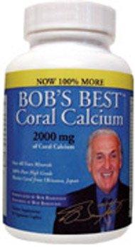 Meilleur Coral Calcium 2000 mg de Bob - 3 bouteilles spécial
