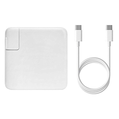 87W USB-C Power Adapter Charger for New Macbook Pro 15 Inch Laptop,Replacement Charger for Apple 87W MNF82LL/A A1708 With USB-C to USB-C Charge Cable by Hotsellshop