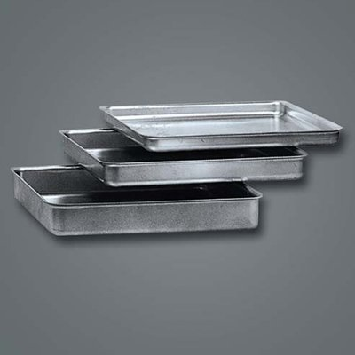 (American Metalcraft SQ1410 Square Deep Dish Pan, Aluminum, 1