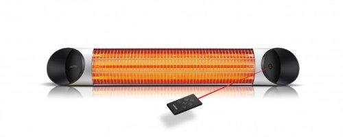 Veito - Calefactor de infrarrojos (2000 vatios, incluye mando a distancia, 4 niveles