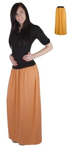 Jupe Long Miel pour de beaucoup femmes Mija C Maxi les 4001 couleurs H5yBPPXFc