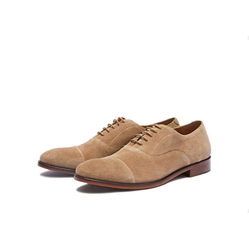 New Republic Men's Mason Suede Cap Toe Dress Shoe - Dirty Buck (10.5)]()