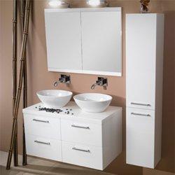 Iotti A16-Wenge-637509918927 Aurora Collection Bathroom Vanity, Wenge