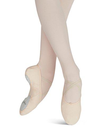 Capezio Women's Canvas Juliet Ballet Shoe,Light Ballet Pink,7.5 M US