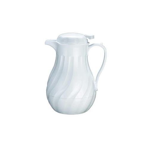 Update International (F3022/40) 42 Oz. Insulated White Swirl Carafe, Set of 3 (Hotel Coffee Carafe compare prices)