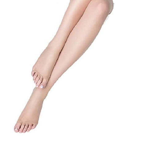 Marilyn Womens Peep Toe Toeless Pantyhose (Small, Nude)