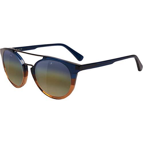 Vuarnet Round Cable Car VL160200101143 Sunglasses Gradient Blue Brown