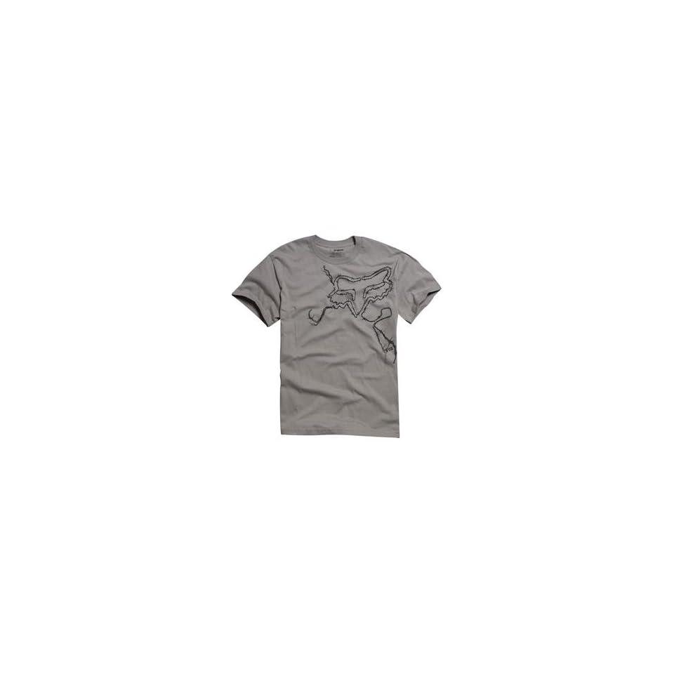 Fox Racing Barbed T Shirt   Small/Dark Grey