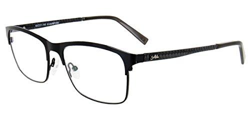 Aloha Eyewear Tek Spex 1003 Men's Photo-Chromatic Progressive Bifocal Reader Glasses / Sunglasses (Black - Transition While Driving Lenses