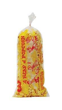 Gold Medal 2125 Heap-O-Corn Popcorn Plastic Bag44; 1000 ()