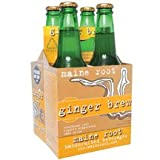Maine Root Ginger Brew Soda 12 Ounce