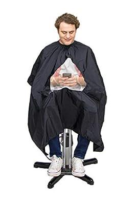 GreenMan Barber cape Unise.x