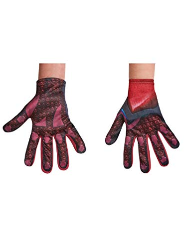 Disguise Red Power Rangers Movie Child Gloves, One Size