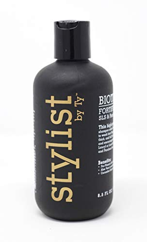 Biotin Hair Growth Shampoo-Biotin Vitamin Shampoo For Hair Loss And Thinning Hair, Sulfate Free Aloe Vera Cucumber Extract With Pro Vitamin B, Stylist by Ty, 8.5oz