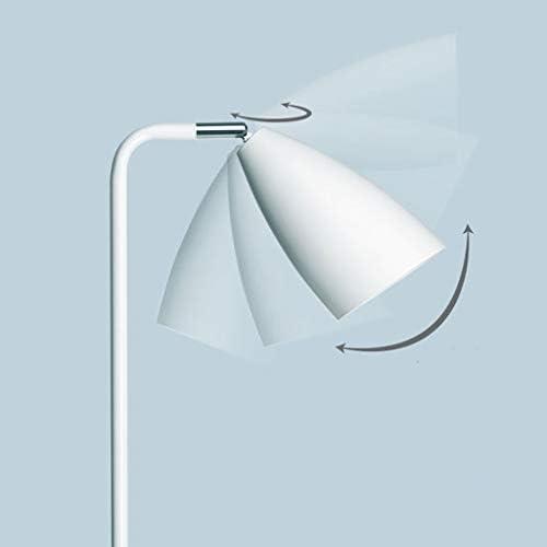Vast White Floor Lamp, LED Floor Light, Reading Standing Lamp for Living Room Bedroom, 45° Oblique Control Floor Light 319