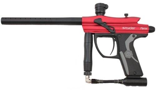 Kingman Spyder Fenix .68 Cal Electronic Paintball Gun Marker - Hot Red