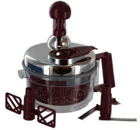 Mighty Salsa Chopper / Maker with Built in Egg White Separator