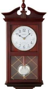 Constant - Reloj de péndulo para pared, madera de roble, color marrón