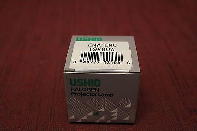 Ushio 19 Volt 80 Watt Projection Lamp New