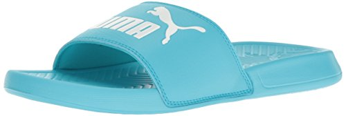 Puma Men's Popcat Slide Sandal Blue Atoll-puma White oijJ0yWf