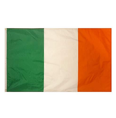 Rimi Hanger Ireland Irish Large Flag 5ft x 3ft St Patricks Day Fancy Dress Football Flag One -