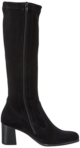 Gabor Schwarz Mujer Shoes Basic Textile 17 Negro Botas Gabor para OOAqrw