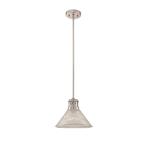 Lite Source LS-19792 Gale Pendant, Polished Steel Finish by Lite Source (Image #2)