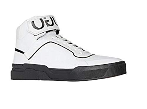 Hugo Boss Symmetric Hito ltrb Mens High top Shoes 50384315-100 White