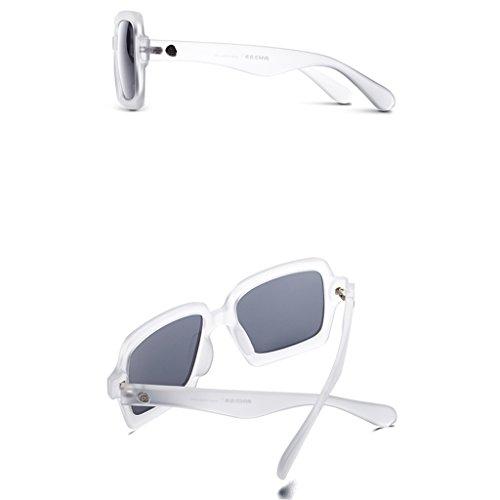 15364dac62 Gafas de sol de las mujeres alrededor de la cara del marco de la  personalidad Polarizador
