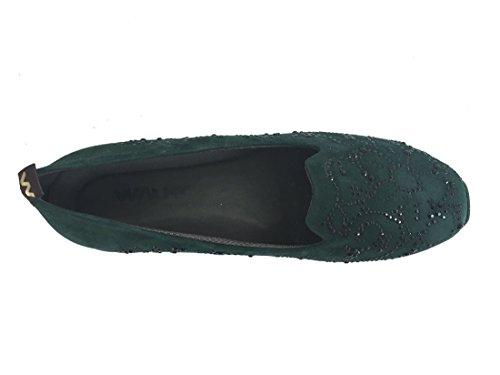 R25003 Slip Italy Melluso Made on Scarpa Donna Pelle In Bosco dIBqBwU