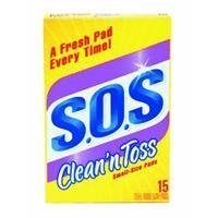 - Clean 'n Toss S.O.S Pads; 15 count