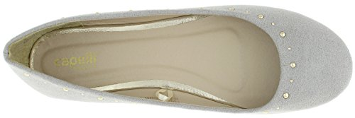 Capelli New York Plain Ladies Flats Grey zRqnzCw