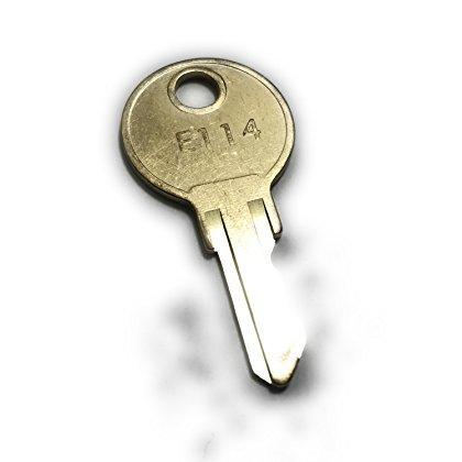 ASI E114 Key, Commercial-Grade Key Fits All ASI Towel Dispensers & ASI Toilet Paper Dispensers (EA)