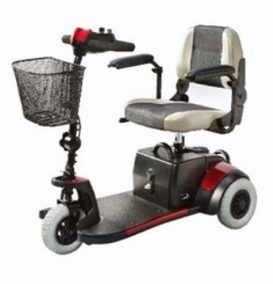 Merits Health Products Mini-Coupe Electric Scooter - S539EA - 1 Each / Each
