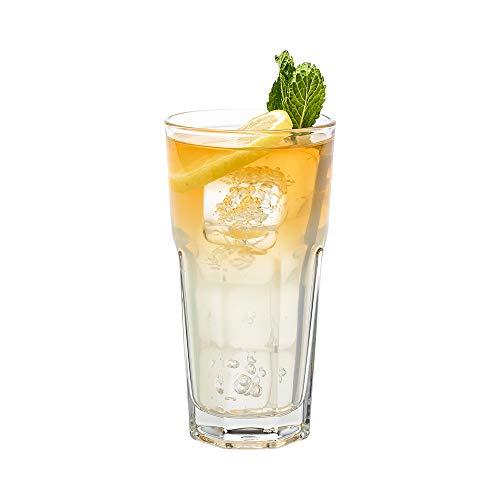 Otto 12 oz Beverage Glass – 3″ x 3″ x 5 3/4″ – 6 count box – Restaurantware