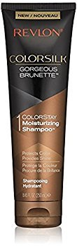 Revlon Colorsilk Colorstay Moisturizing Shampoo, Gorgeous Brunette, 8.45 fl oz (Pack of ()