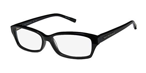 Trussardi 12722 Mens/Womens Rx Ready Ultimate Comfort Designer Full-rim Flexible Hinges Eyeglasses/Eye Glasses (54-14-135, ()